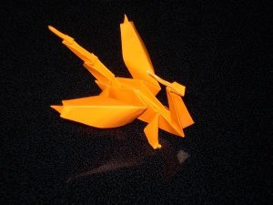 Picture of an origami dragon I made