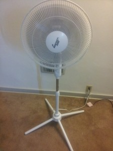 This was my workout lifesaver! Way too hot today but I did my workout anyway :D