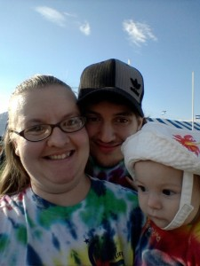 Loving family at Relay for Life 2013