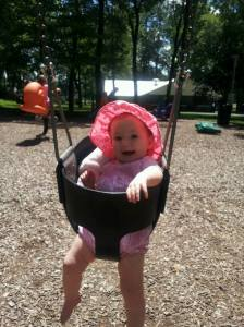 She missed her swing